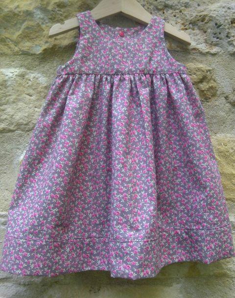 Robe froncée (4)