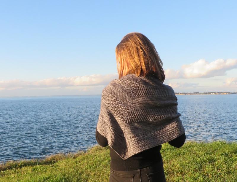 Textured shawl (3)