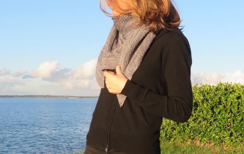 Textured shawl (5)