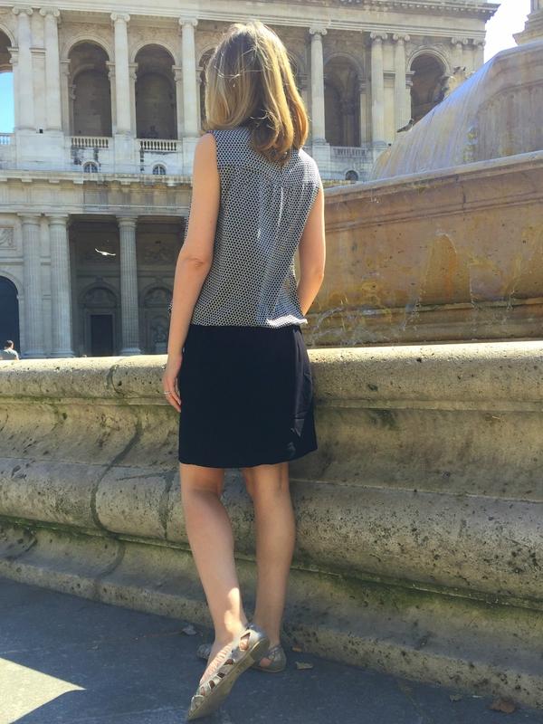 Brigitte et jupe élastique (2)