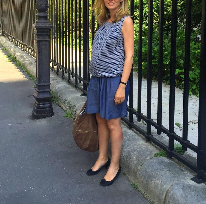 Blue skirt & top brigitte (4)